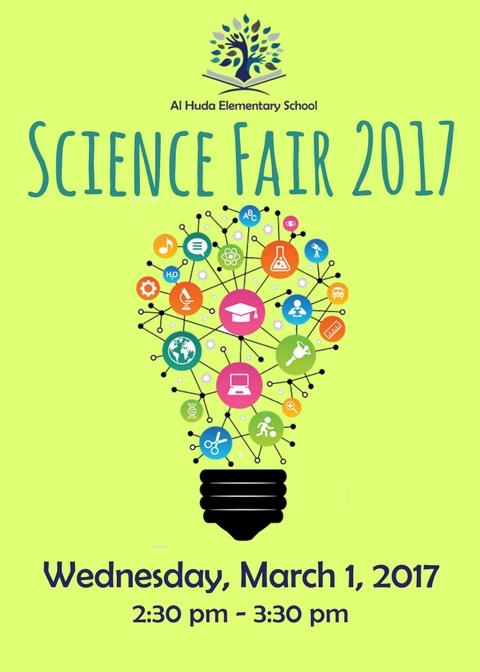 Science Fair – Wed. Mar. 1