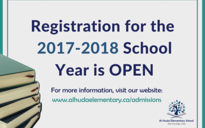 Registration for the 2018-2019 School Year is OPEN!